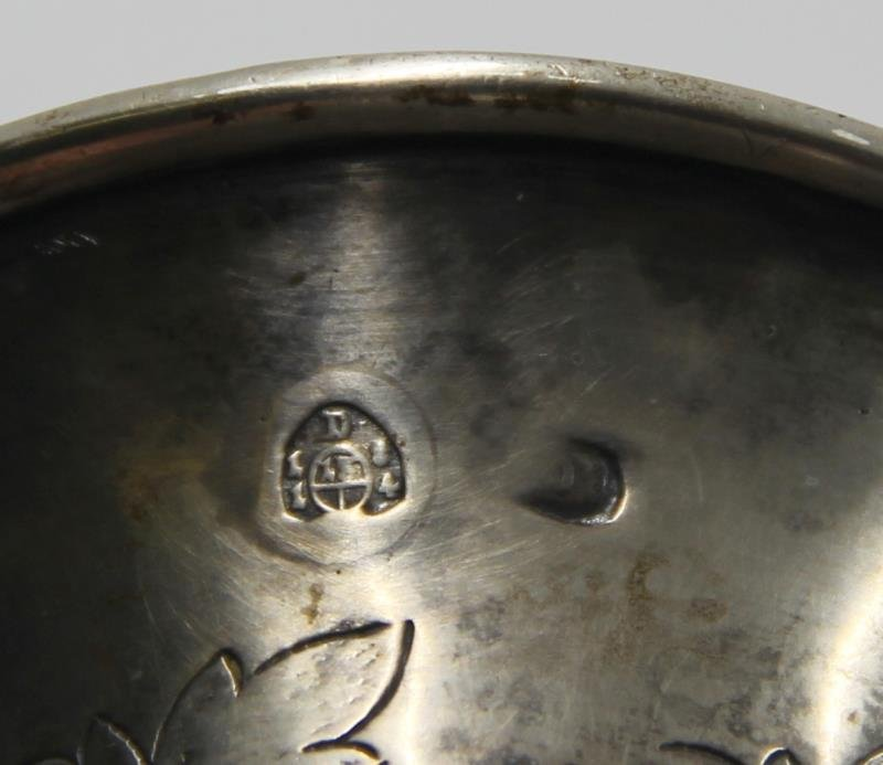 SILVER. Grouping of Antique Continental Silver. - 3
