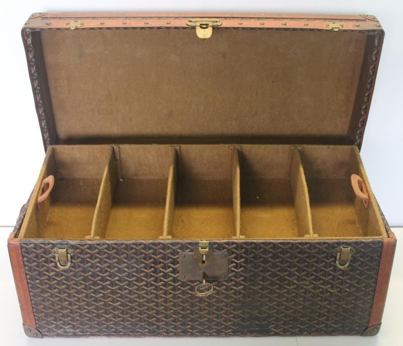 Vintage Goyard Trunk. - 10