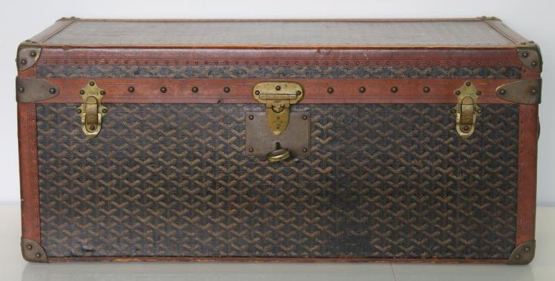 Vintage Goyard Trunk.