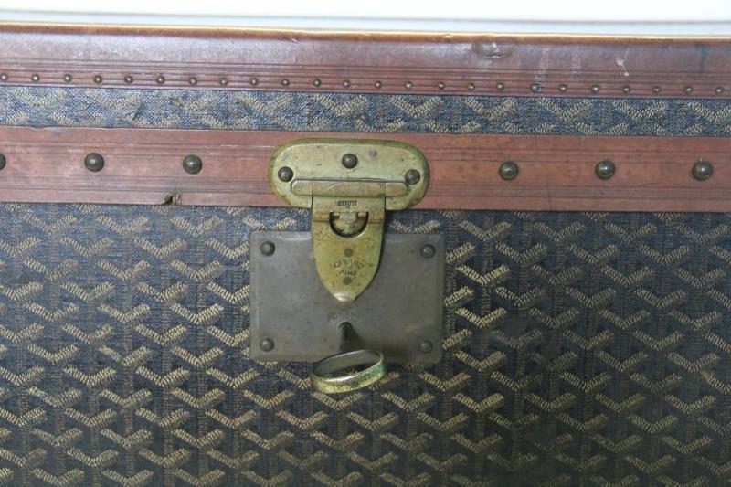 Vintage Goyard Trunk. - 2