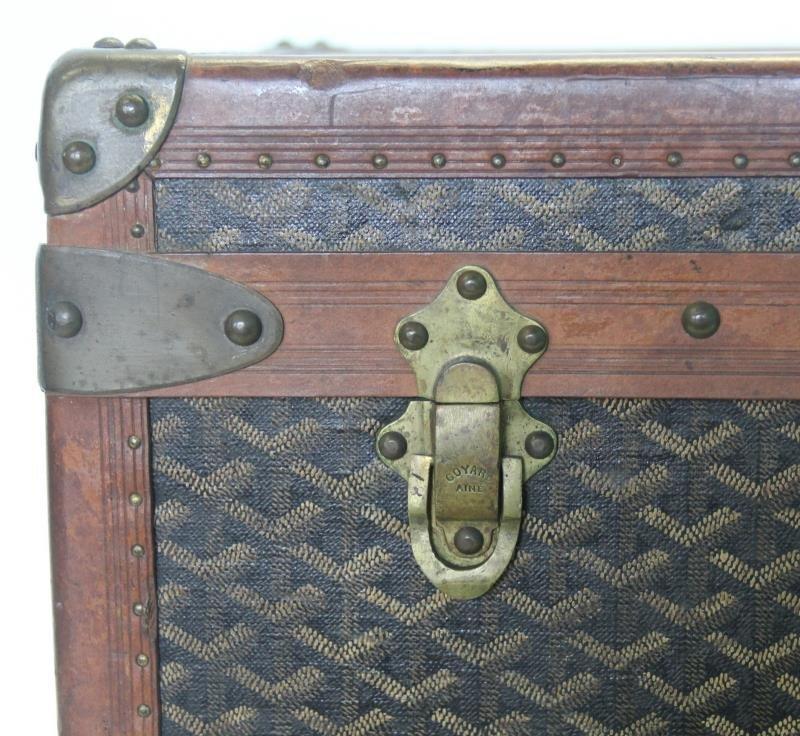 Vintage Goyard Trunk. - 4