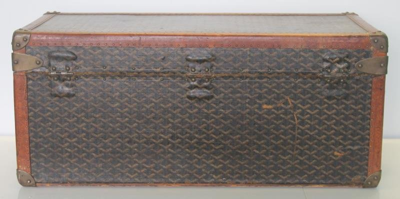 Vintage Goyard Trunk. - 5