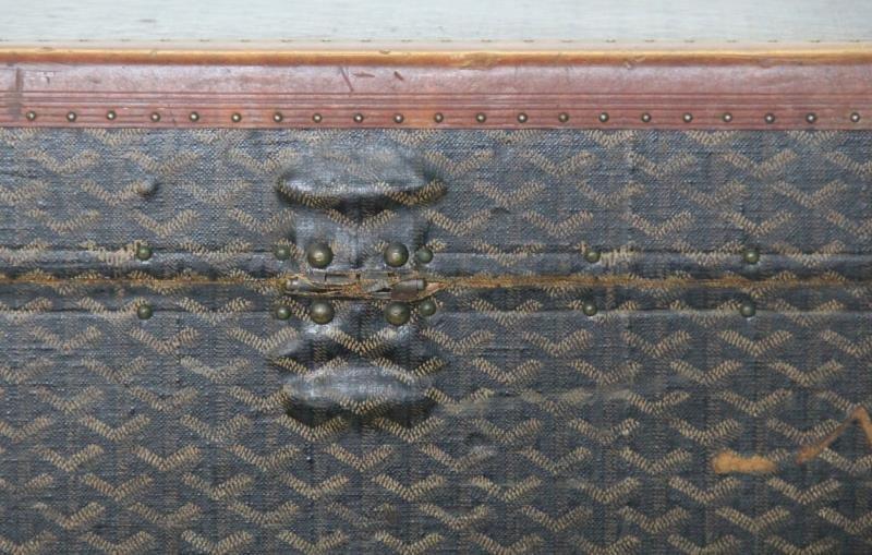 Vintage Goyard Trunk. - 7