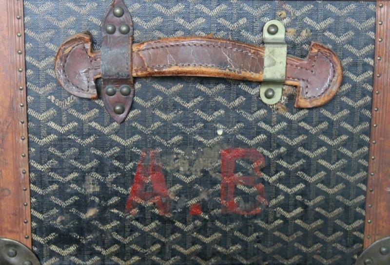Vintage Goyard Trunk. - 8