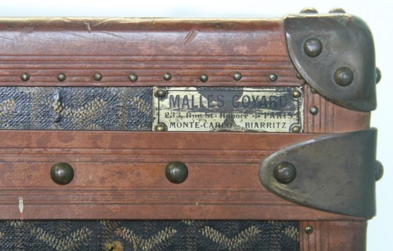 Vintage Goyard Trunk. - 9