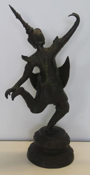 Southeast Asian Bronze Dancer.