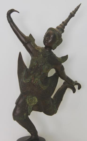 Southeast Asian Bronze Dancer. - 3