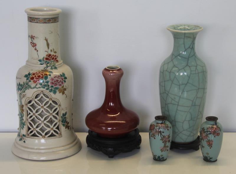 Asian Porcelain Grouping.