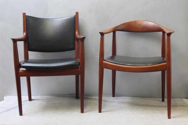 Hans Wegner; Johannes Hansen Chair Lot.