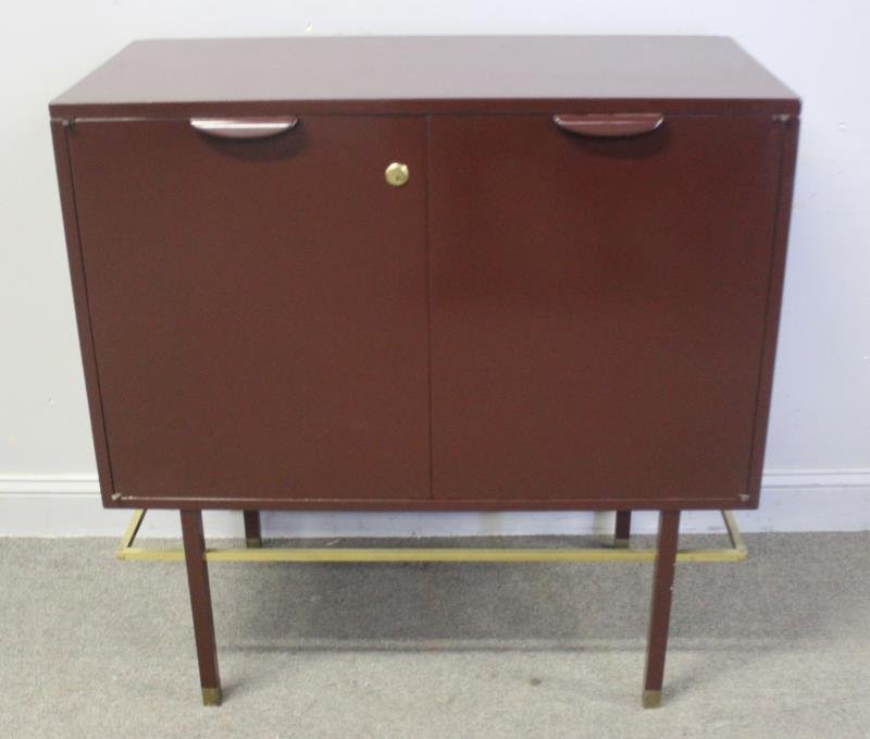 Midcentury Harvey Probber Lift Top Bar Cabinet. - 2