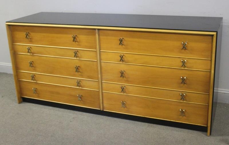 Midcentury Paul Frankl Double Dresser.
