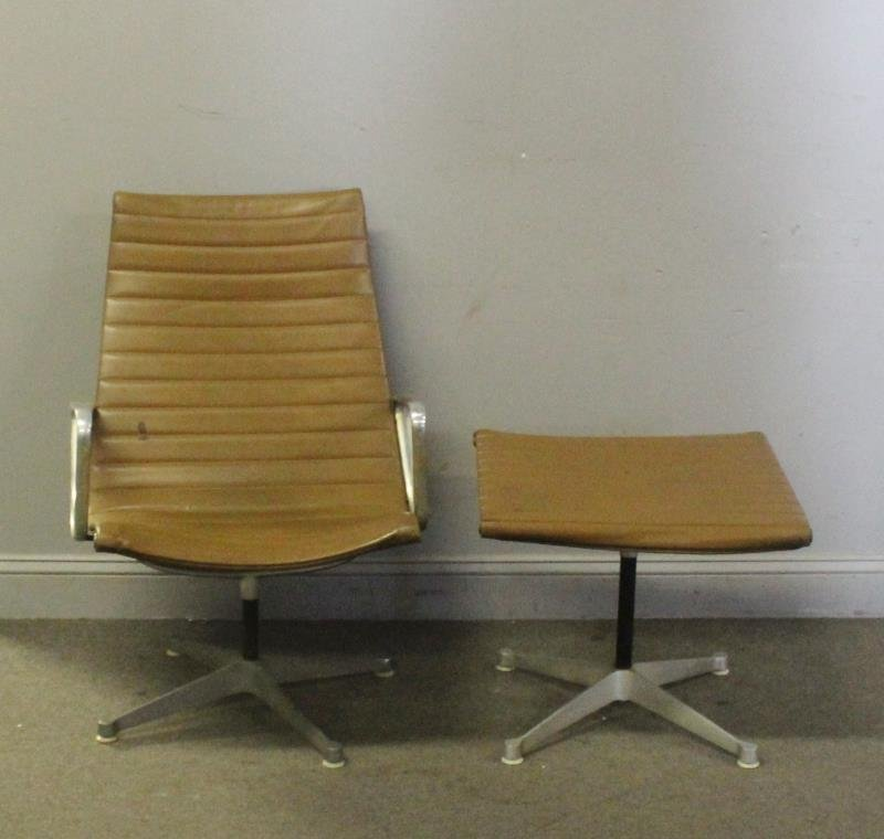 Midcentury Herman Miller Aluminum Group Chair. - 2