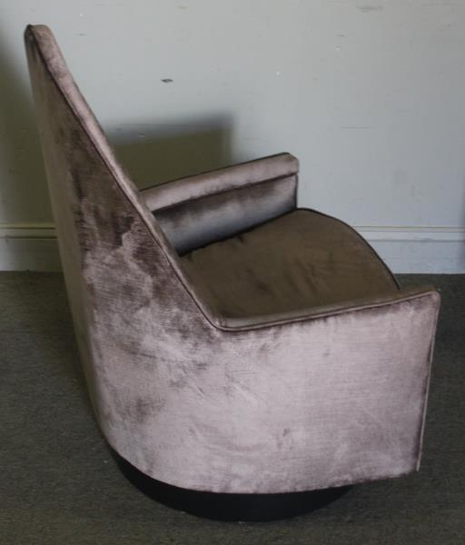 Midcentury Pair of Milo Baughman Swivel Chairs. - 3