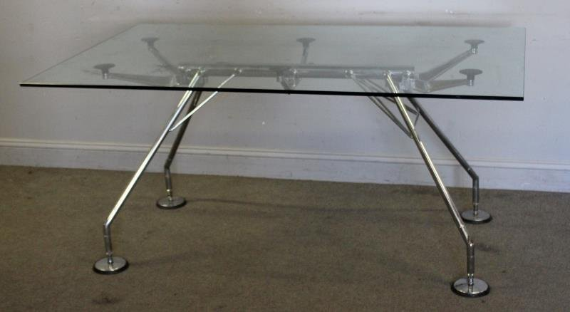 Lord Norman Foster for Tecno Dining Table.
