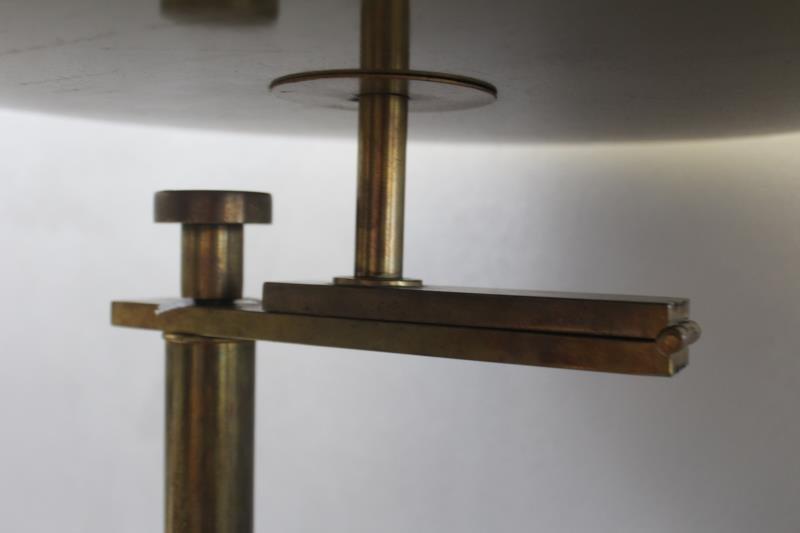 Midcentury Kurt Versen / Nessen Brass Floor Lamp. - 3