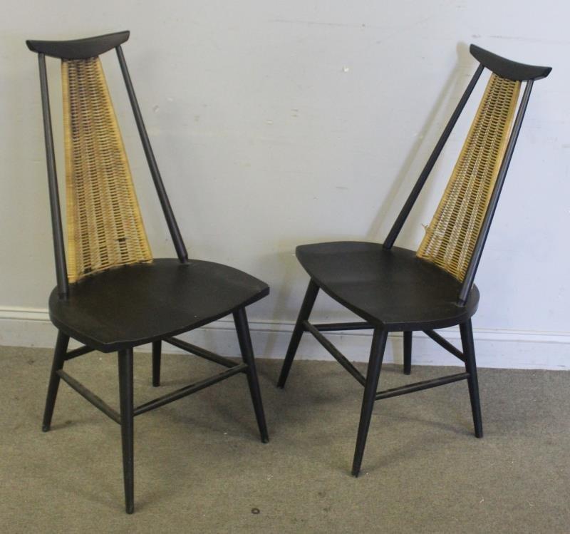 Midcentury Pair of Paul McCobb Style Chairs.