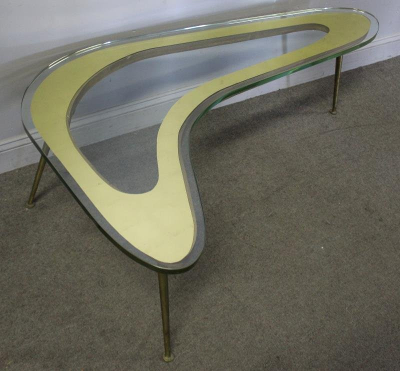 Midcentury Italian Fontana Arte Style Coffee Table