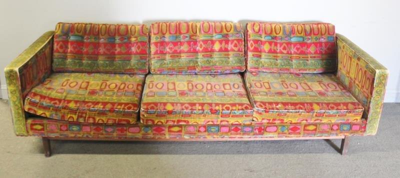 Midcentury Jack Lenor Larsen Upholstered Sofa.
