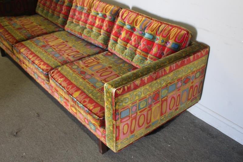 Midcentury Jack Lenor Larsen Upholstered Sofa. - 2