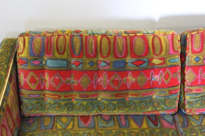 Midcentury Jack Lenor Larsen Upholstered Sofa. - 3