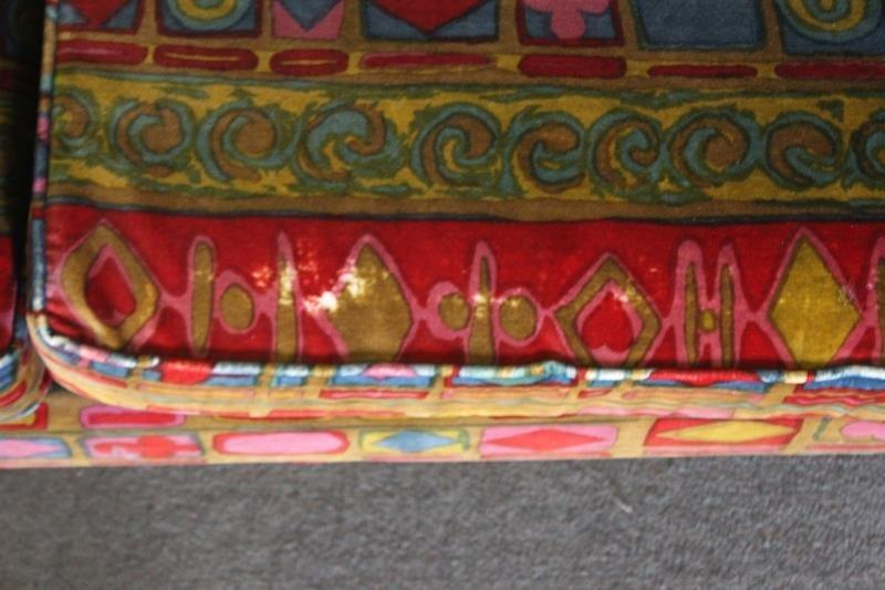 Midcentury Jack Lenor Larsen Upholstered Sofa. - 4