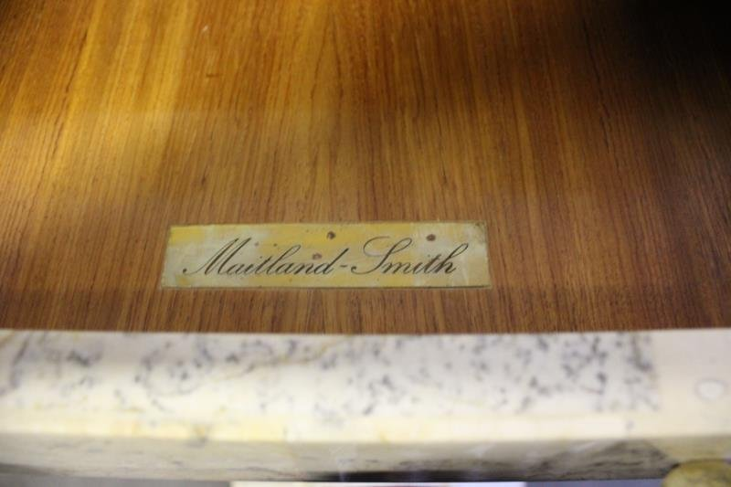Maitland -Smith Vintage Tessalated Pyramid Cabinet - 3