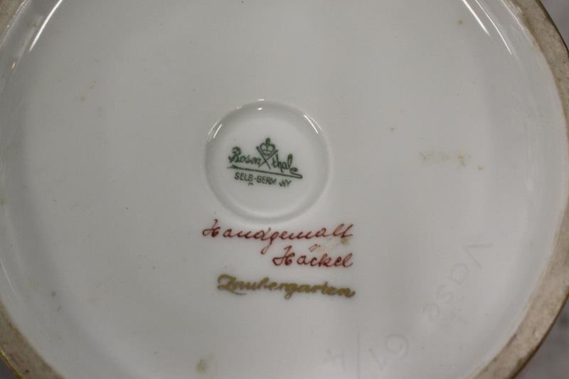 ROSENTHAL, Artist Signed and Decorated porcelain - 5