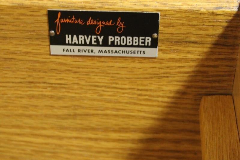 Midcentury Cane Front Harvey Prober Dresser. - 4