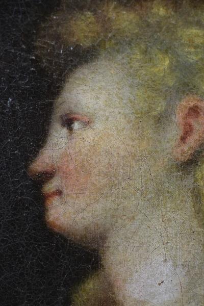 16th/17th C. Florentine School. Angel Gabriel. - 3