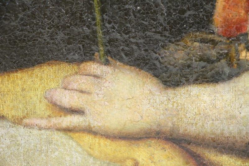 16th/17th C. Florentine School. Angel Gabriel. - 5