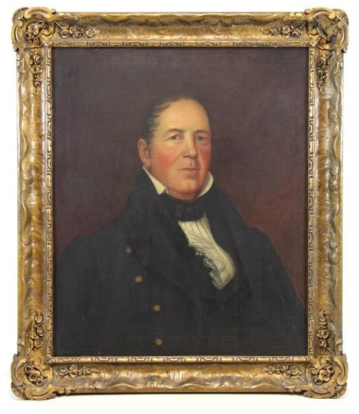 American School 19th C. Oil / Canvas Portrait of - 2