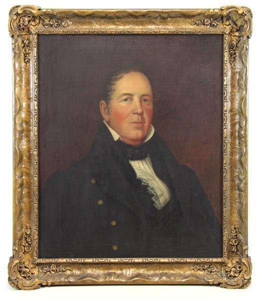 American School 19th C. Oil / Canvas Portrait of - 2