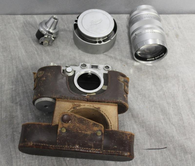 Antique Leica Camera And Accessories To Inc - 2