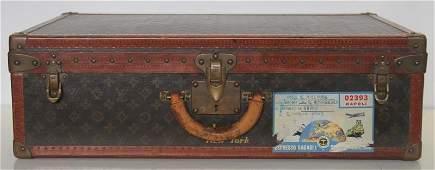Vintage Louis Vuitton Suitcase or Luggage.