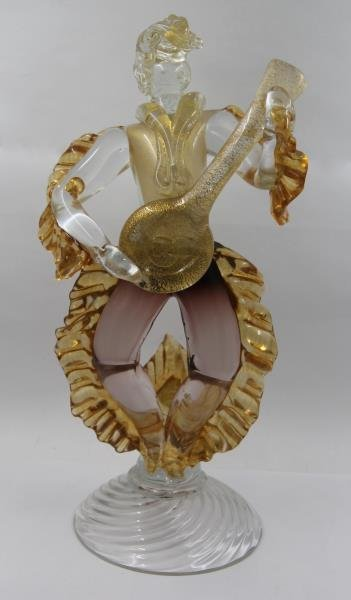 Pair of Murano Glass Figures. - 2