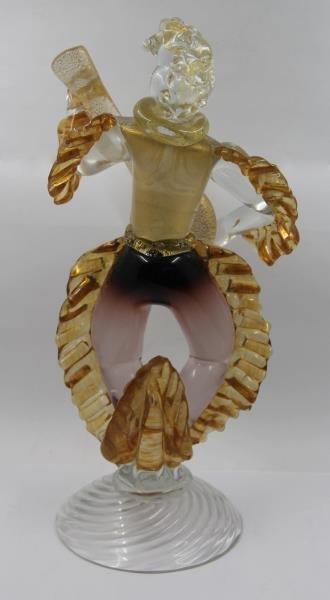 Pair of Murano Glass Figures. - 3