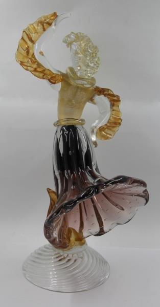 Pair of Murano Glass Figures. - 5