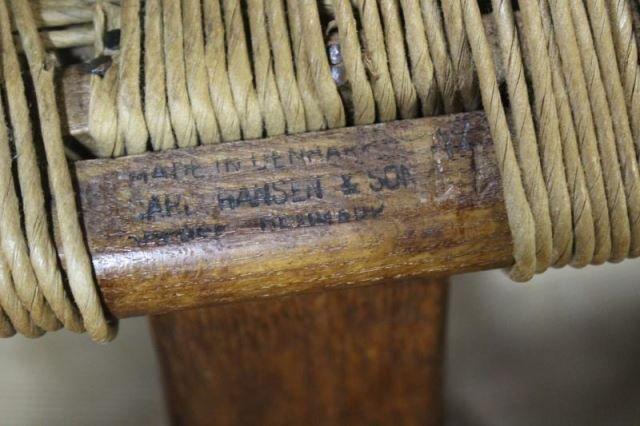 Set of 12 Midcentury Hans Wegner Wishbone Chairs. - 2