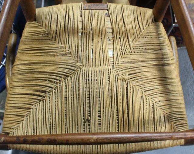 Set of 12 Midcentury Hans Wegner Wishbone Chairs. - 8