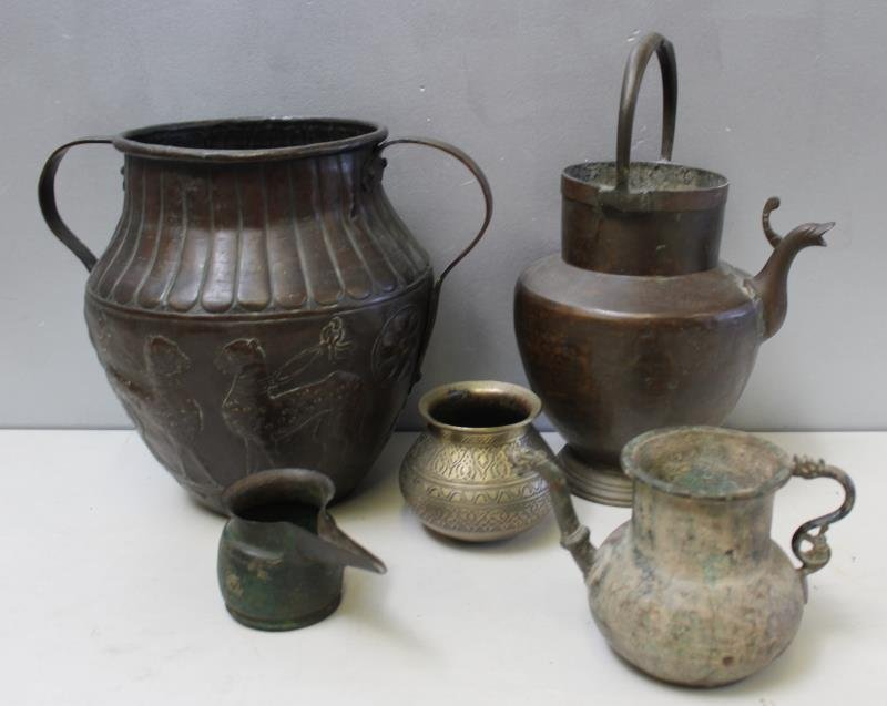 Persian Antiquities, lot of 5 Items To Inc, - 6