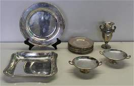 STERLING Grouping of Silver Items Inc Cartier