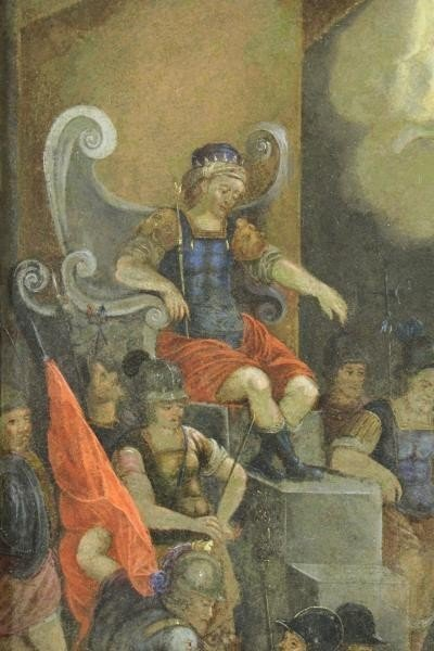 18th/19th C. Oil on Copper. The Martyrdom of Saint - 6