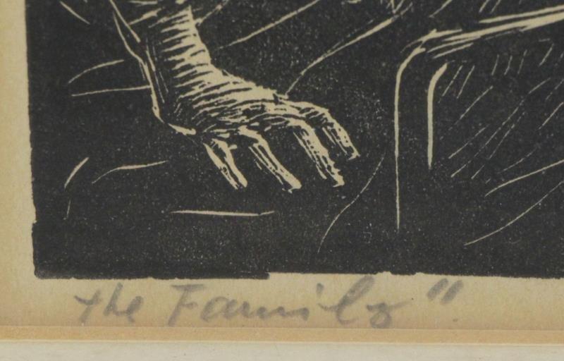 ABRAMOVITZ, Albert. Two Signed Woodcut Prints. - 7