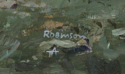 "ROBINSON, James. Oil on Panel. ""Last Covey"". - 4"
