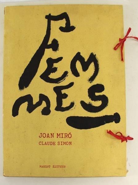"MIRO, Joan & Claude Simon. ""Femmes"" Portfolio."