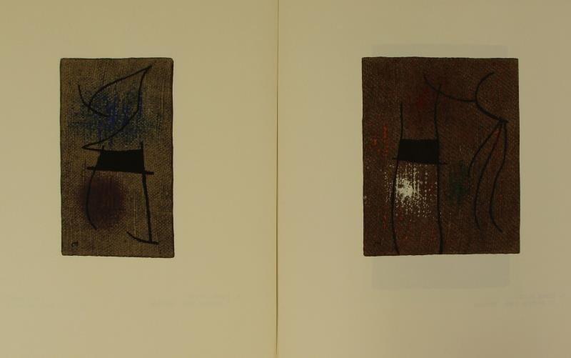 "MIRO, Joan & Claude Simon. ""Femmes"" Portfolio. - 4"