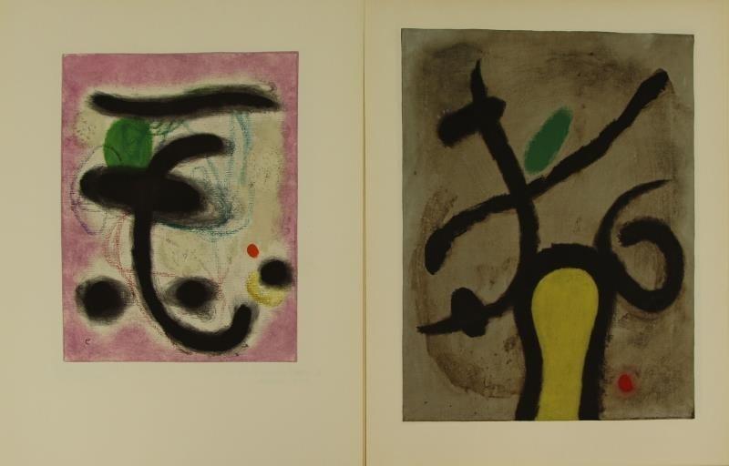 "MIRO, Joan & Claude Simon. ""Femmes"" Portfolio. - 5"