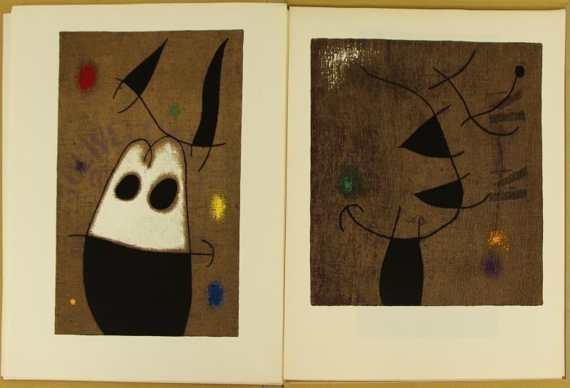 "MIRO, Joan & Claude Simon. ""Femmes"" Portfolio. - 7"