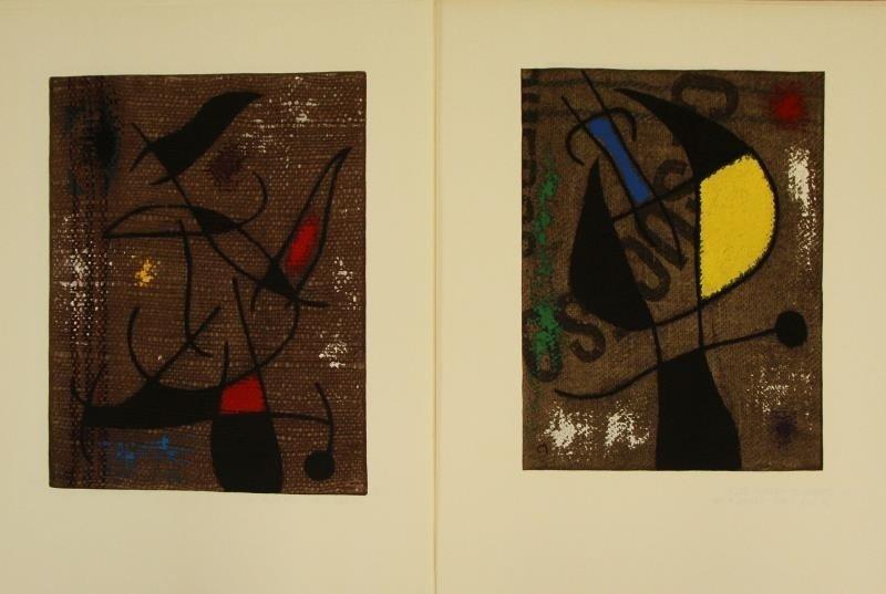 "MIRO, Joan & Claude Simon. ""Femmes"" Portfolio. - 8"