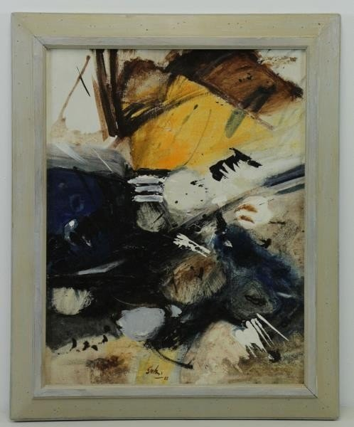 SAKAI, Kazuya. Untitled Abstract Oil on Canvas, - 2